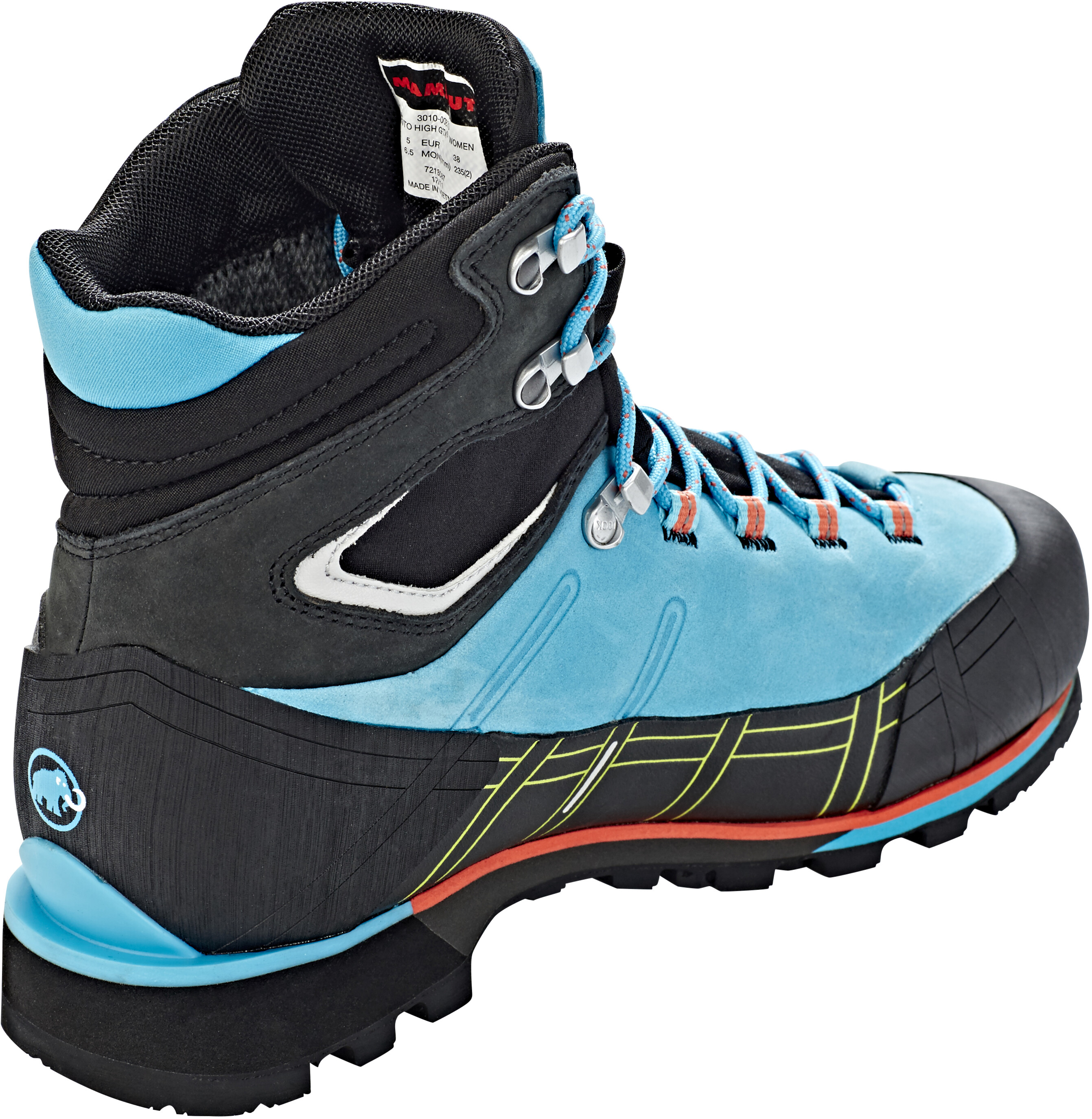9245e926090 Mammut Kento High GTX Shoes Women arctic-black